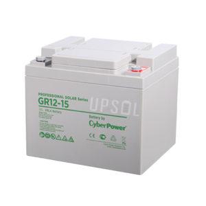 Аккумуляторная батарея CyberPower GR 12-15