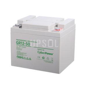 Аккумуляторная батарея CyberPower GR 12-50