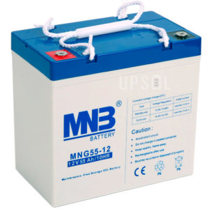 Аккумуляторная батарея MNB MNG 55-12