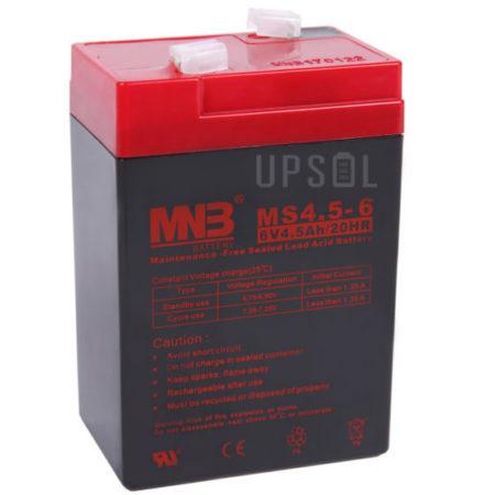Аккумуляторная батарея MNB MS 4.5-6