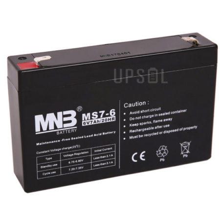 Аккумуляторная батарея MNB MS 7-6