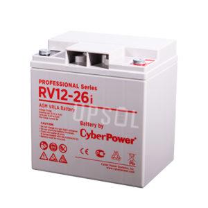 Аккумуляторная батарея CyberPower RV 12-26i